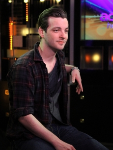 Gethin Anthony sits down for an interview at Access Hollywood, March 2012