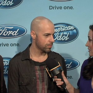 Was Chris Daughtry Nervous To Perform In Front Of Steven Tyler & Jennifer Lopez On 'American Idol'?