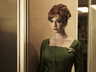 Christina Hendricks as Joan in 'Mad Men' Season 5