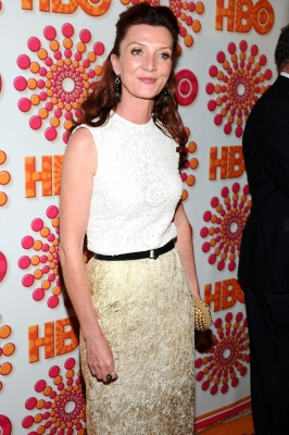 Michelle Fairley arrives at HBO's Annual Emmy Awards Post Award Reception, Los Angeles, on September 18, 2011