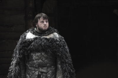 John Bradley as Samwell Tarly in 'Game of Thrones' Season 2