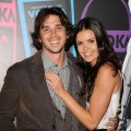 "Ben Flajnik and Courtney Robertson attend Svedka's Second Annual ""Night Of A Billion Reality Stars"" Bash in Los Angeles on March 29, 2012"