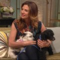 Daisy Fuentes Helps Two Furry Friends Find Good Homes