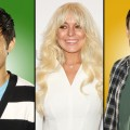 Harry Shum Jr. as Mike Cheng, Lindsay Lohan and Cory Monteith as Finn Hudson