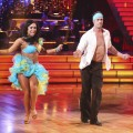 William Levy shows off some skin while performing with partner Cheryl Burke on 'Dancing with the Stars' on April 2, 2012