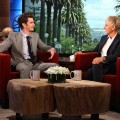 Andrew Garfield appears on 'The Ellen DeGeneres Show' on April 3, 2012