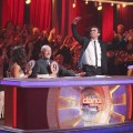 Bruno Tonioli goes wild at the judges' table on 'Dancing,' April 2, 2012