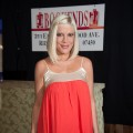 Tori Spelling promotes her new book 'CelebraTori' at Bookends Bookstore in Ridgewood, New Jersey on April 3, 2012