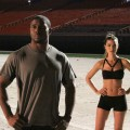 Reggie Bush and Equinox trainer Lia Smith