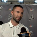 Adam Levine Talks 'American Horror Story', His New 'Do & 'Voice' Live Rounds