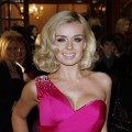 Katherine Jenkins attends the Macmillan Centenary Gala at London Palladium, London, on November 28, 2011