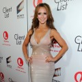 Jennifer Love Hewitt steps out at the red carpet launch party for Lifetime and Sony Pictures&#8217; &#8216;The Client List&#8217; at Sunset Tower in West Hollywood, Calif. on April 4, 2012