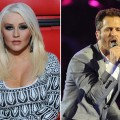 Christina Aguilera and Tony Lucca on NBC&#8217;s &#8216;The Voice&#8217;