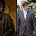 Sean Bean as Paul Winstone in ABC's 'Missing' (left), Sean Bean as Paul Winstone and Ashley Judd as Becca Winstone in ABC's 'Missing' (right)