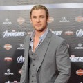 A dapper Chris Hemsworth arrives at the premiere of Marvel Studios' 'The Avengers' at the El Capitan Theatre in Hollywood on April 11, 2012