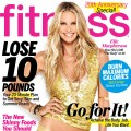 Elle Macpherson on the cover of Fitness magazine (May 2012)