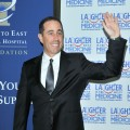 Jerry Seinfeld attends the Toronto East General Hospital's First Annual Comedy Gala, 'Laughter Is The Best Medicine' in Toronto, Canada on April 12, 2012