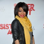 Raven-Symone attends the after party for her Broadway debut in 'Sister Act' at the AVA Lounge at the Dream Hotel in New York City on March 27, 2012