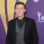 Scotty McCreery arrives at the 47th Annual Academy of Country Music Awards in Las Vegas, Nevada on April 1, 2012