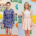 Kristen Stewart & Emma Stone at the 2012 Kids' Choice Awards