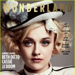 Dakota Fanning for the April/May 2012 cover of Wonderland magazine