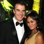 Chris Noth and Tara Wilson attends HBO's 68th Annual Golden Globe Awards Official After Party held at The Beverly Hilton hotel in Beverly Hills on January 16, 2011