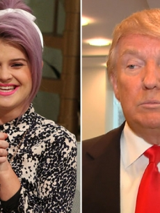Kelly Osbourne / Donald Trump 