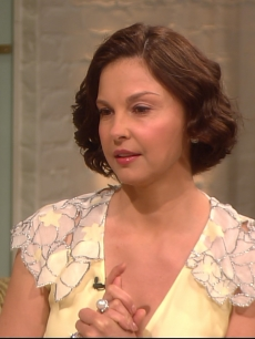 Ashley Judd visits Access Hollywood Live on April 12, 2012