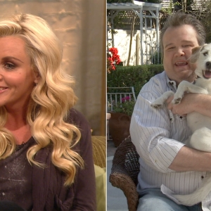 Jenny McCarthy's New Shoes & Eric Stonestreet Kicks Off 'Hug Your Dog Day'