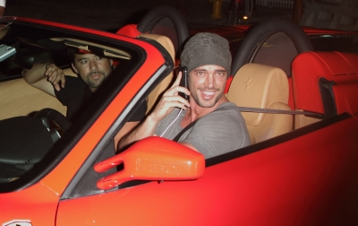 William Levy flashes a smile in Miami Beach, July 12, 2011