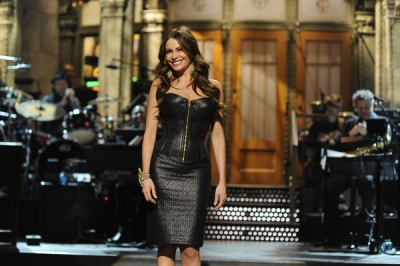 Sofia Vergara hosts &#8216;Saturday Night Live,&#8217; April 7, 2012