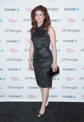 &#8216;Smash&#8217; star Debra Messing arrives at the BAM 150th Anniversary gala at the BAM Howard Gilman Opera House in New York City on April 12, 2012