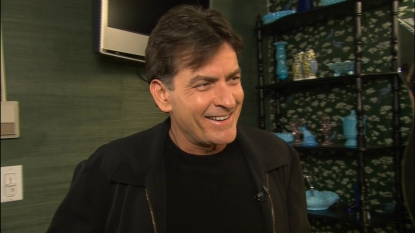 Charlie Sheen speaks with Access Hollywood correspondent Jill Martin, March 29, 2012