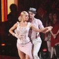Mark Ballas and Katherine Jenkins during Latin week on 'Dancing,' April 16, 2012