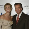 Britney Spears and Dick Clark seen in Los Angeles on November 4, 2002 