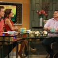 Chaz Bono stops by Access Hollywood Live on April 20, 2012