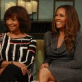 Vanessa Williams and her mother Helen discuss their writing process for their new book, 'You Have No Idea,' on Access Hollywood Live on April 20, 2012