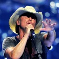 Kenny Chesney performs onstage at the iHeartRadio Music Festival held at the MGM Grand Garden Arena, Nashville, on September 24, 2011