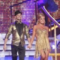 Mark Ballas and Katherine Jenkins take the stage during Week 6, Motown Week on 'Dancing,' April 23, 2012