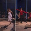 Jaleel White and Kym Johnson compete against Roshon Fegan and Chelsie Hightower in the 'Dancing with the Stars' 'dance-off' during Week 7, May 1, 2012