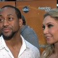 Jaleel White and Kym Johnson chat with Access Hollywood at 'Dancing with the Stars' on May 1, 2012
