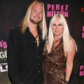 Charley Hill and Linda Hogan step out at the Perez Hilton's 2011 'One Night In Los Angeles' Concert Series at The Wiltern in Los Angeles on August 27, 2011