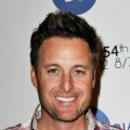 Chris Harrison poses backstage at the GRAMMYs Dial Global Radio Remotes during The 54th Annual GRAMMY Awards at Staples Center, Los Angeles, on February 10, 2012