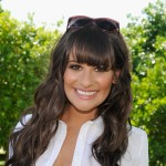 Lea Michele attends day 1 of LACOSTE L!VE Hosts a desert pool party in celebration of Coachella on April 14, 2012 in Thermal, California