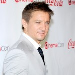 Jeremy Renner, recipient of the Male Star of the Year Award, arrives at the CinemaCon awards ceremony at the Pure Nightclub at Caesars Palace during CinemaCon, the official convention of the National Association of Theatre Owners in Las Vegas on April 26, 2012