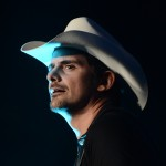 Brad Paisley performs on stage at the Stagecoach Country Music Festival, Indio, Calif., April 29, 2012