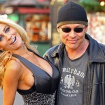 Courtney Stodden and Doug Hutchison are seen at The Grove in Los Angeles on December 6, 2011
