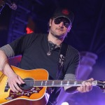 Eric Church performs onstage during the Academy of Country Music concerts on Fremont at the Fremont Street Experience in Las Vegas on March 30, 2012