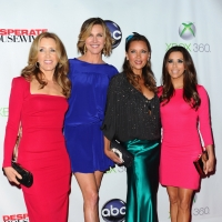 Felicity Huffman, Brenda Strong, Vanessa Williams and Eva Longoria arrive at the Series Finale of 'Desperate Housewives' at W Hollywood in Hollywood, Calif. on April 29, 2012