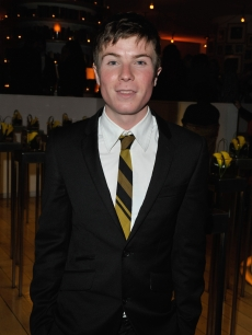 Joe Dempsie attends 'The Damned United' film premiere after party held at the St. Martins Hotel, London, on March 18, 2009